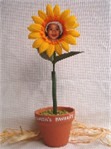 personalized flower pen - auntie's favorites