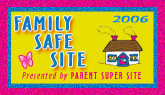 Family Safe Site Award 2006